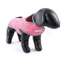 Kabát Doodlebone Tweedie ružový