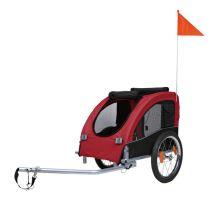 Vozík pre psa za bicykel M 45x48x74cm do 30 kg