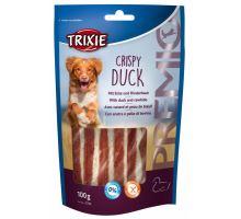 Premio CRISPY DUCK - pásky kachna a buvolí kůže 100 g
