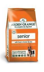 Arden Grange Senior with fresh Chicken & Rice