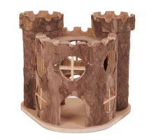 Drevený hrad MATTI pre hlodavce 17x15x12cm TRIXIE