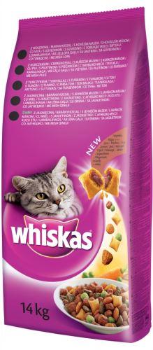 Whiskas Dry s hovädzím mäsom