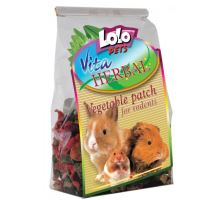 Lolopets VITA HERBAL zeleninové plátky pre hlodavce 40g