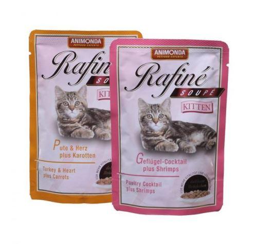 Animonda vrecko Rafiné Soupé Kitten