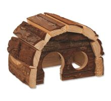 Domček SMALL ANIMAL Hobit drevený 15 x 10 x 9 cm 1ks