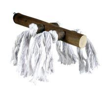 Drevené bidielko s bavlnou malé 20cm / 23mm