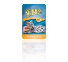 Schmusy Cat kapsa Fish