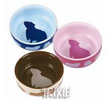 Keramická miska pre morčatá farebná 250 ml / 11 cm