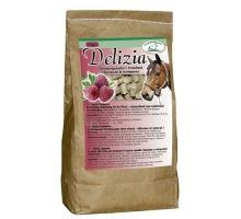 Pochúťka pre kone Delizia malina