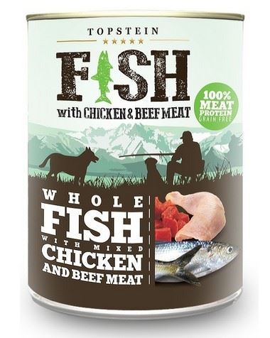 Topstein Fish with Chicken & Beef Meat