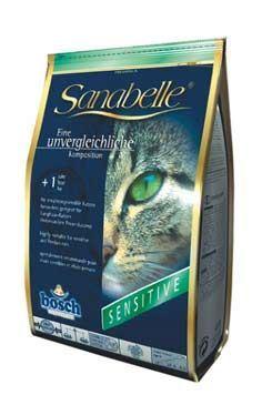 Bosch Cat Sanabelle Sensitive jahňacie s ryžou