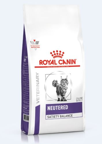 Royal Canin VED Cat Neutered Satiety Balance