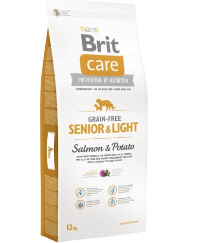 Brit Care Dog Grain-free Senior Salmon & Potato