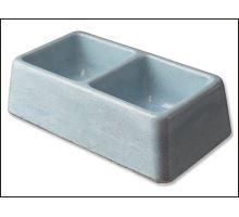Dvojmiska betónová 2 x 0,3 l 1ks 1 KS