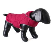 Doodlebone obojstranný kabát, Tweedie, malinový / tmavomodrý