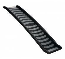 Skladacia rampa, plastová 39 x 160 cm čierno / sivá
