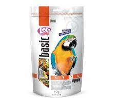 Lolo BASIC kompletné krmivo pre veľké papagáje