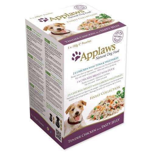 Applaws dog jelly finest selection MP 500g kapsičky